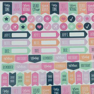 🌈 4/$20 Planner Stickers 300ct